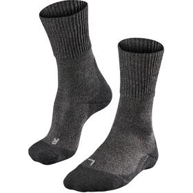 Falke TK1 Wool Skarpetki trekkingowe Mężczyźni, smog